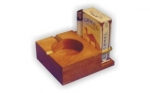 Cenicero de madera (00962)
